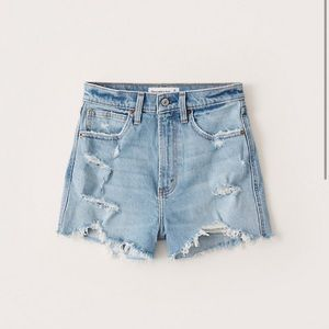NWT Abercrombie & Fitch Jean Shorts